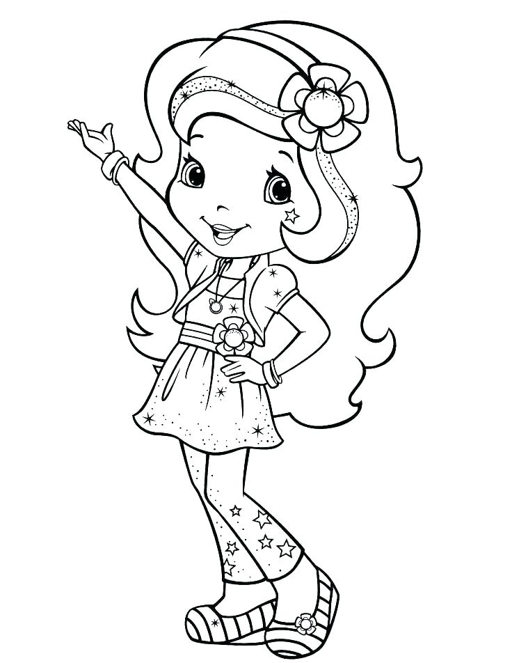 736x952 Cherry Jam Coloring Pages Strawberry Shortcake Coloring Book