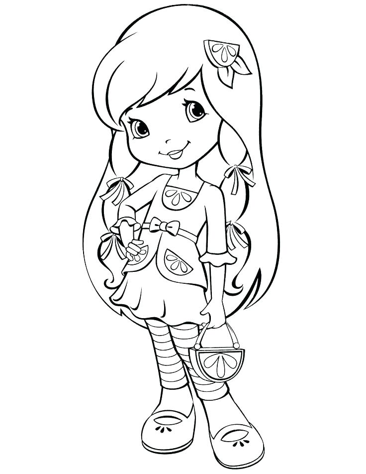 736x952 Cherry Jam Coloring Pages Strawberry Shortcake Lemon Coloring