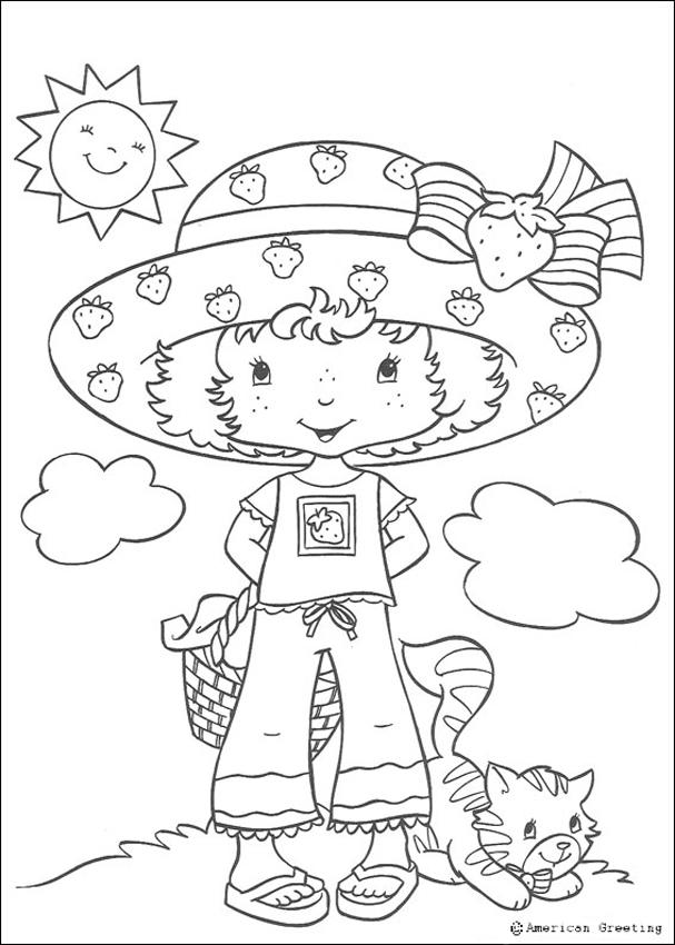 607x850 Cherry Jam Coloring Pages