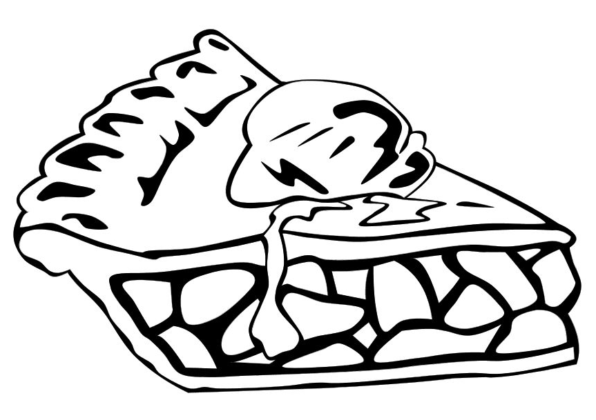 863x609 Coloring Cherry Pie Coloring Pages