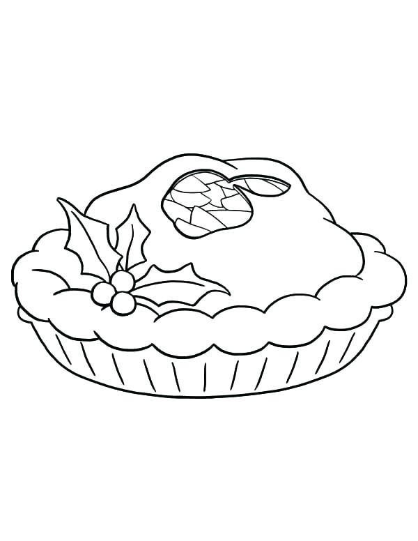 600x776 Pie Coloring Page Coloring Pages Apple Pie Coloring Page Apple Pie