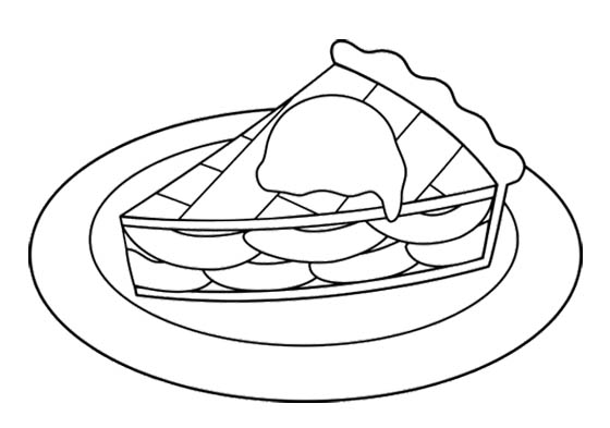 560x393 Sweet Slice Apple Pie Coloring Page Action Man Coloring Page