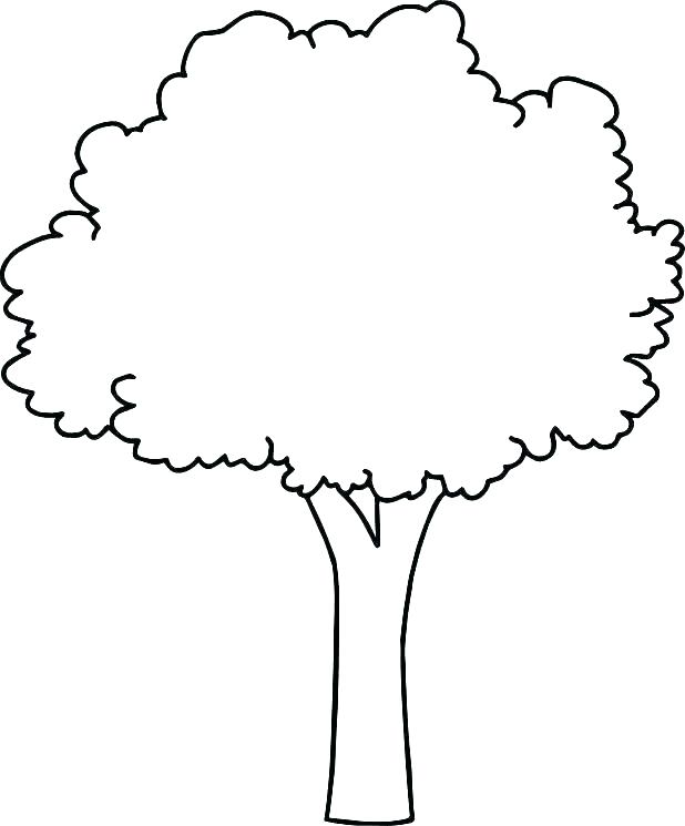618x745 Coloring Printable Tree Coloring Pages Giving Free To Draw