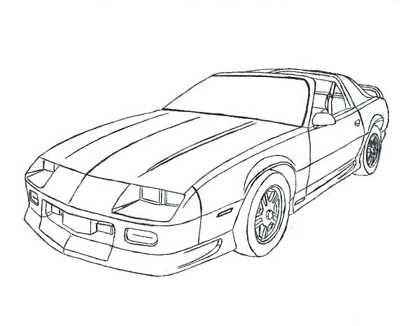 Chevy Camaro Coloring Page At Getdrawings Free Download