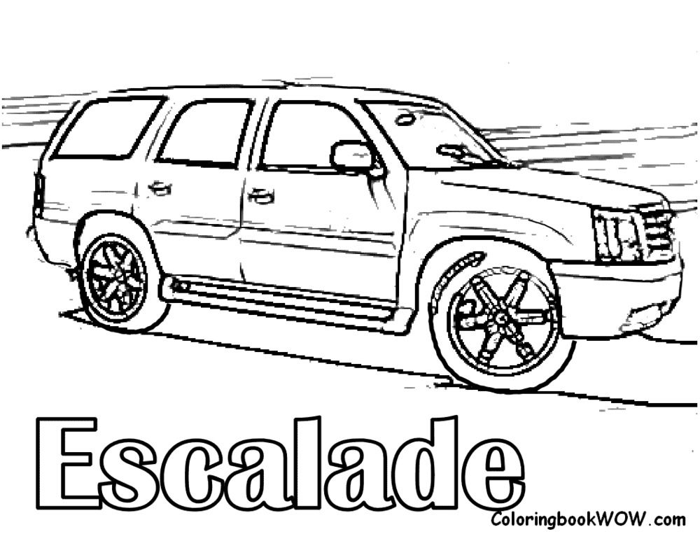 1000x773 Chevy Coloring Pages