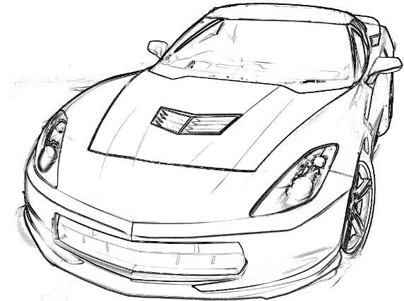572x427 Chevy Coloring Pages