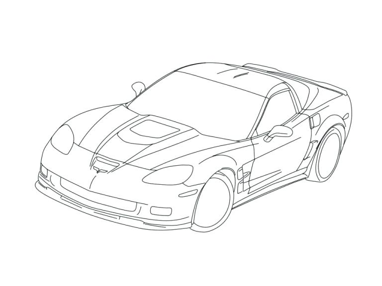 768x576 Chevy Coloring Pages Colors Coloring Pages Chevrolet Coloring