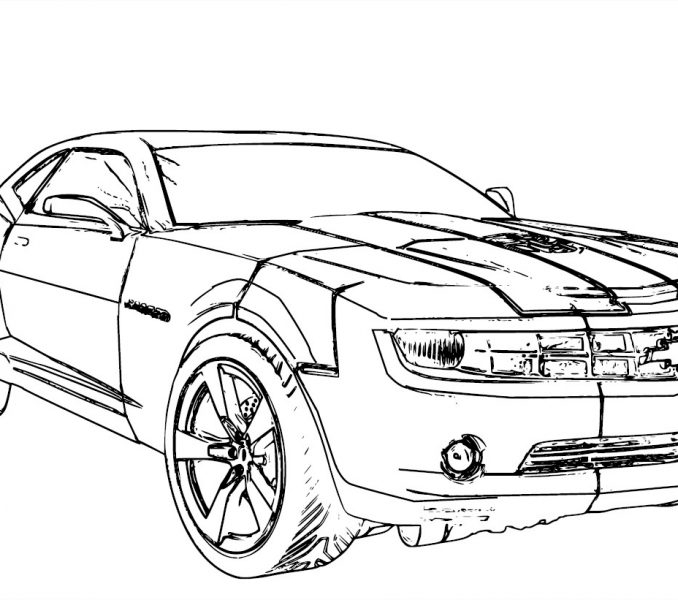 678x600 Camaro Coloring Pages Compilation Free Coloring Pages