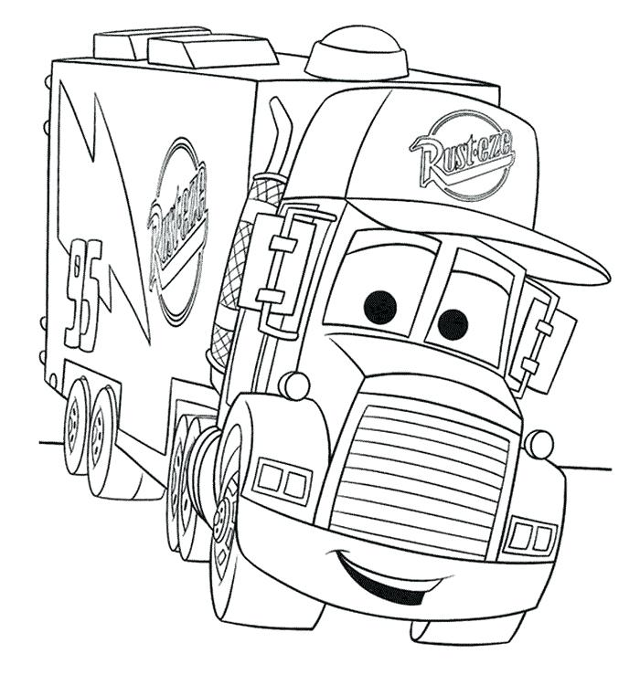 700x750 Printable Chevy Truck Coloring Pages Big Monster Truck Coloring