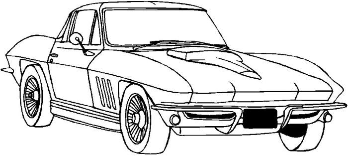 700x313 Printable Chevy Coloring Pages Mustang Coloring Page Chevy