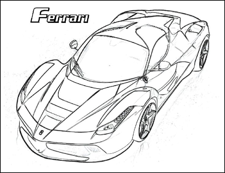 736x568 Best Best Sport Car Coloring Pages In Hd Resolution Images