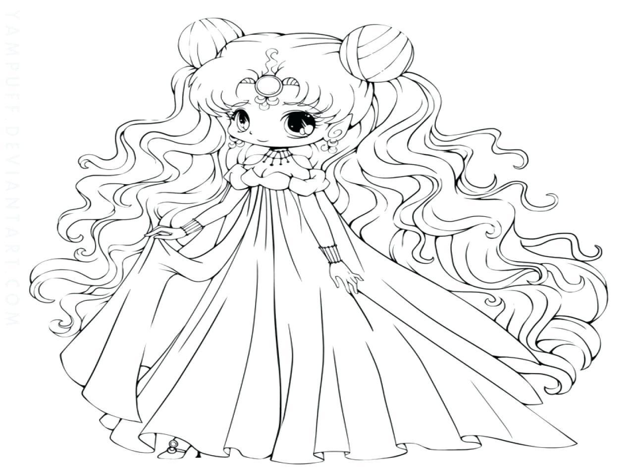 1280x960 Fresh Chibi Princess Coloring Pages Design Printable Coloring Sheet