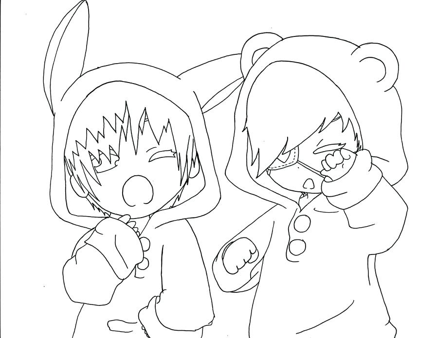 900x696 Chibi Anime Coloring Pages Anime Couple Sleeping Coloring Coloring