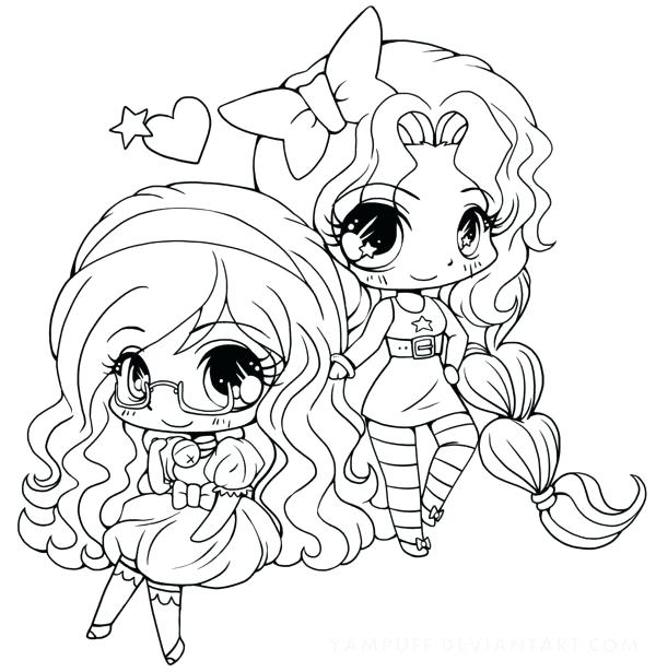 600x615 Chibi Anime Coloring Pages Detailed Coloring Pages Detailed