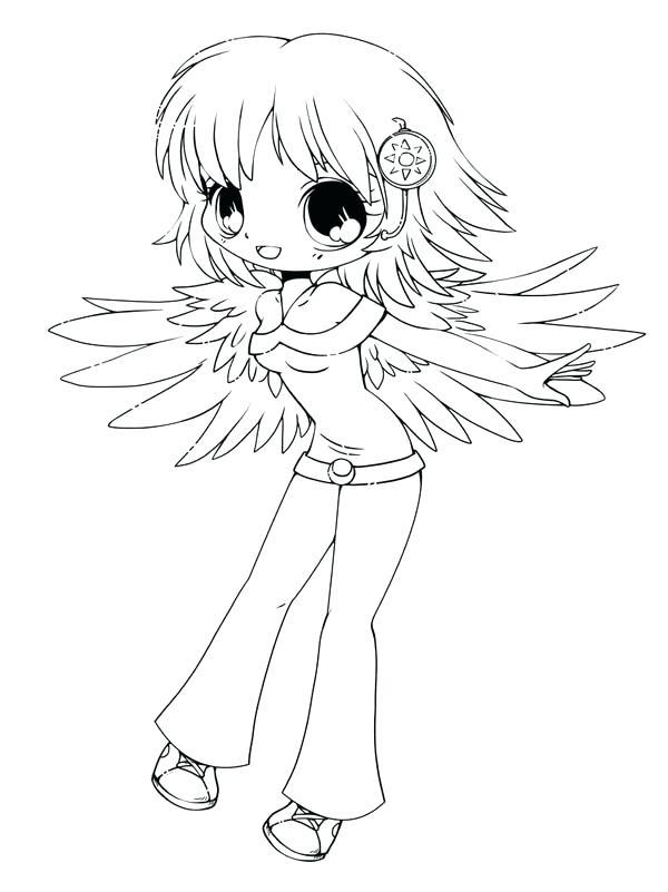 600x801 Chibi Coloring Page Cute Drawing Coloring Page Chibi Disney