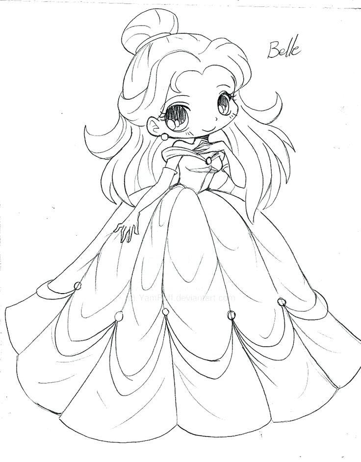 736x941 Chibi Disney Characters Coloring Pages Kids Coloring Anime