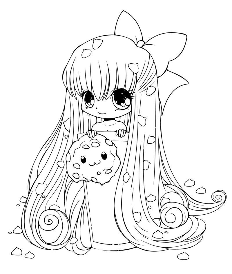 Chibi Anime Coloring Pages at GetDrawings.com | Free for ...