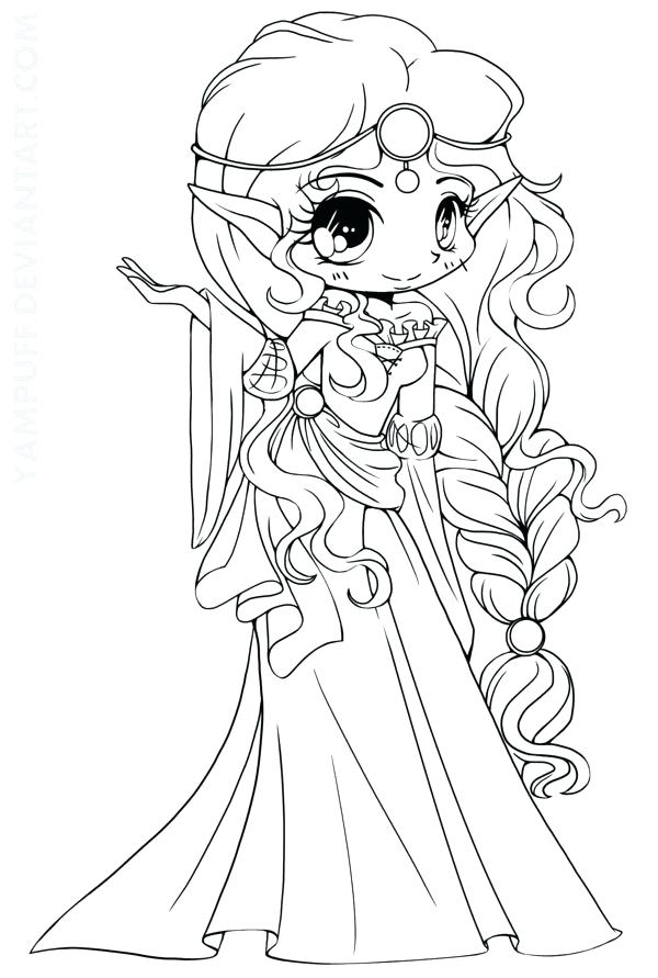 600x891 Chibi Coloring Pages Chibi Coloring Page Coloring Pages Anime