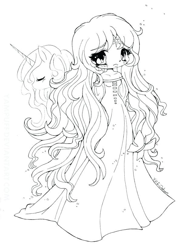 Chibi Coloring Pages At Getdrawings Free Download