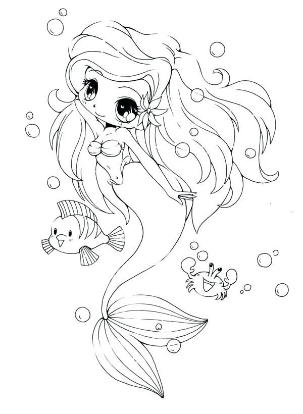600x820 Chibi Anime Coloring Pages