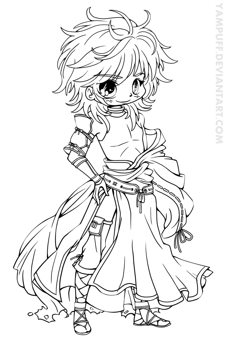 800x1185 Cute Chibi Coloring Pages Printable Print Color Craft Brilliant