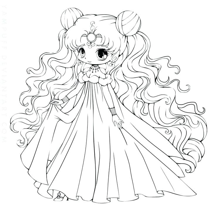 736x707 Chibi Coloring Pages To Draw Coloring Pages Sailor Moon Colouring