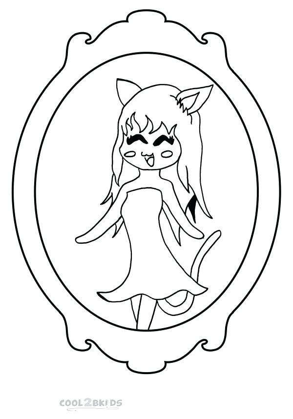 600x858 Chibi Coloring Pages