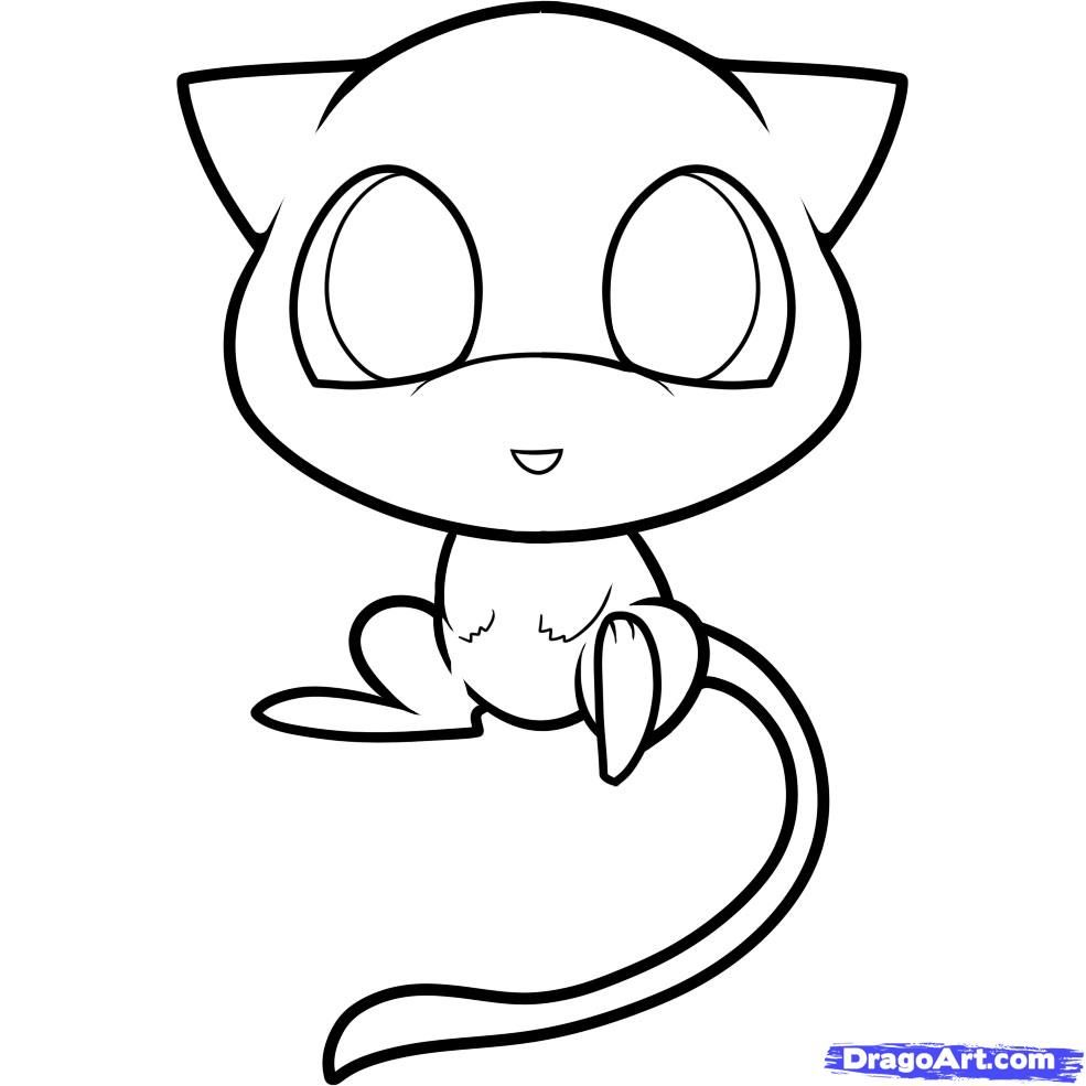 985x985 Chibi Pokemon Coloring Pages