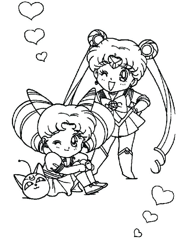 600x815 Chibi Pokemon Coloring Pages Coloring Print Sailor Moon And Sailor