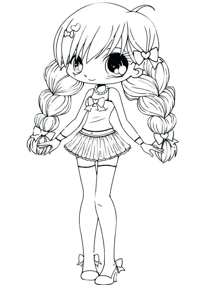 750x1000 Anime Coloring Pages Printable Couple Free Chibi Coloring Collection