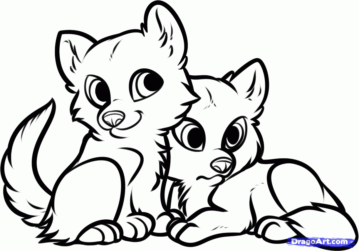 1222x856 Wolf Coloring Pages To Download And Print For Free