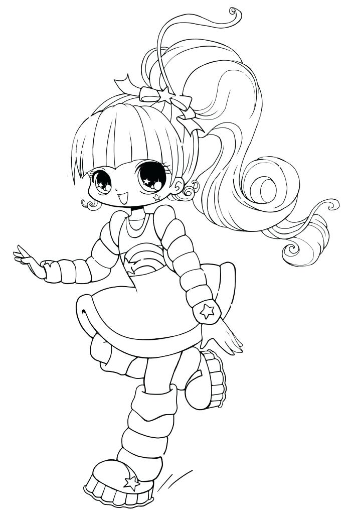 700x1024 Anime Chibi Coloring Pages
