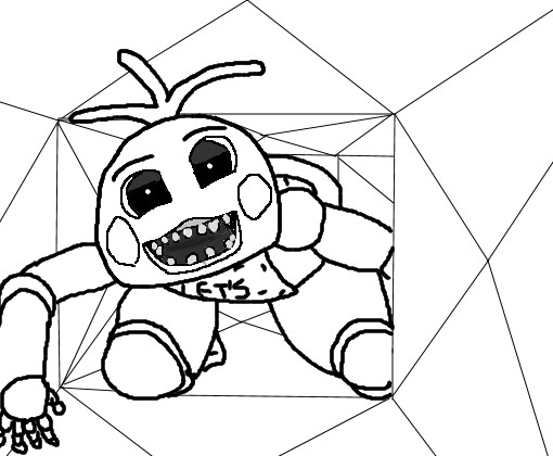 510x420 Bonnie The Bunny Coloring Pages Beautiful Five Nights Freddy