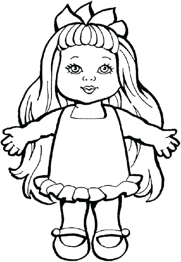 600x865 Toy Coloring Pages
