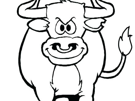 440x330 Chicago Bears Coloring Pages Bulls Coloring Sheets Bull Coloring