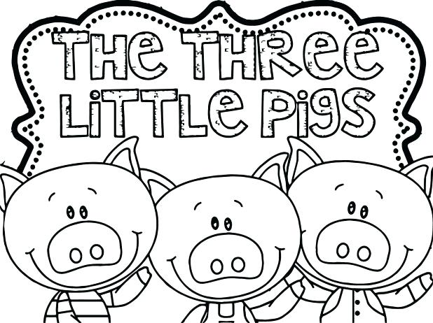 618x462 Chicago Bears Coloring Pages Three Little Pigs Coloring Page