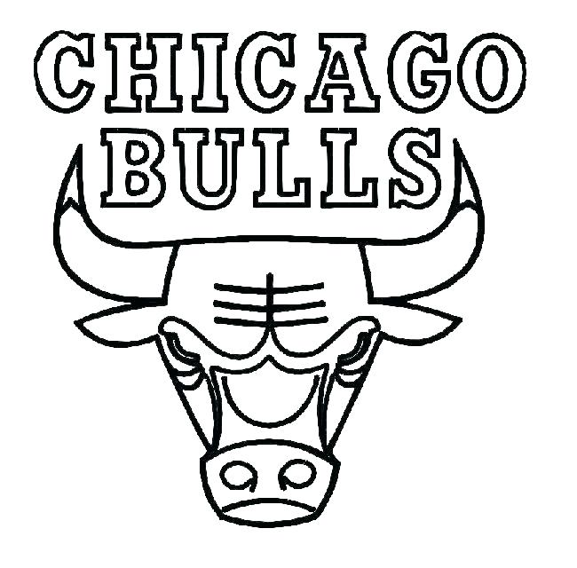 650x640 Chicago Bears Helmet Coloring Pages Cubs Logo Page Bulls Pictures