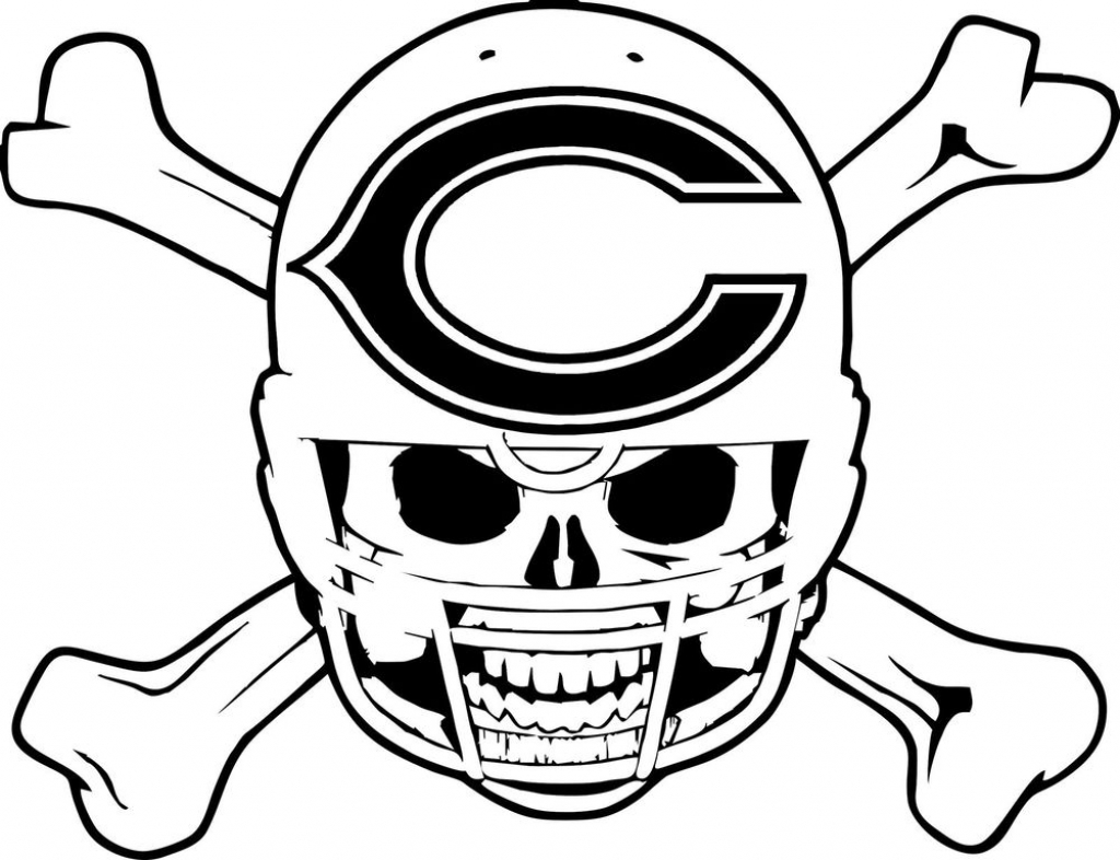 Chicago Bears Coloring Pages At Getdrawings Com Free For