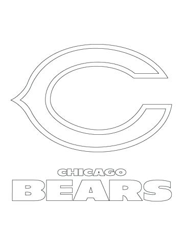 360x480 Chicago Blackhawks Para Colorear Cubs Logo Coloring Page Coloring