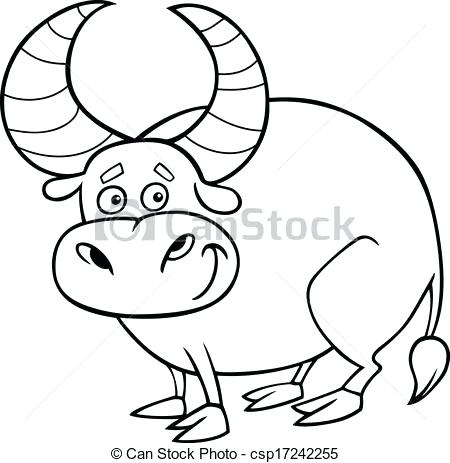 450x463 Bull Coloring Page Zodiac Or Bull Coloring Page Chicago Bulls Logo
