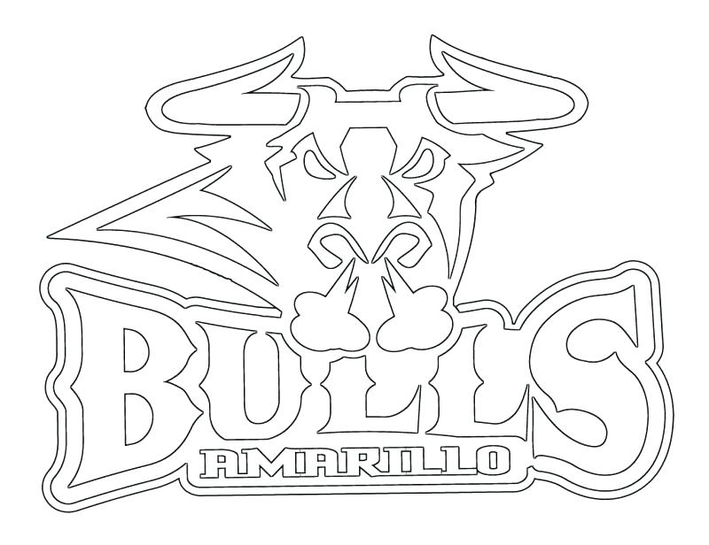 800x616 Chicago Bulls Coloring Pages Basketball Coloring Pages Bulls Logo
