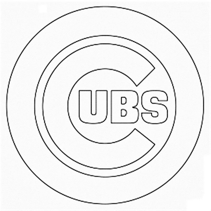 800x800 Chicago Cubs World Series Coloring Pages Chicago Cubs Coloring