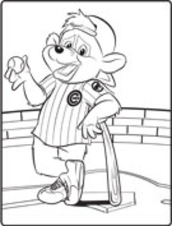 250x328 Chicago Cubs Coloring Pages