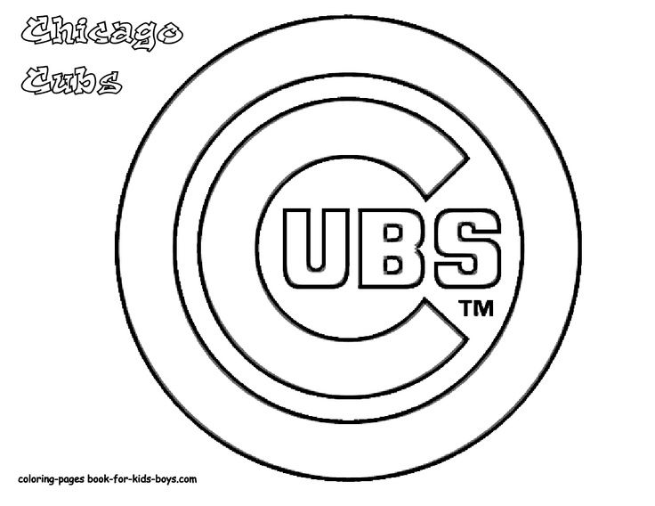 736x568 At Chicago Cubs Coloring Pages