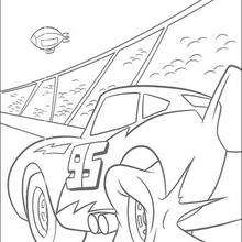 220x220 Chick Hicks And The King Coloring Pages