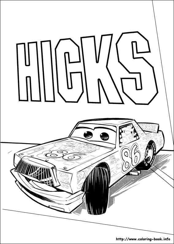 567x794 Cars Coloring Picture