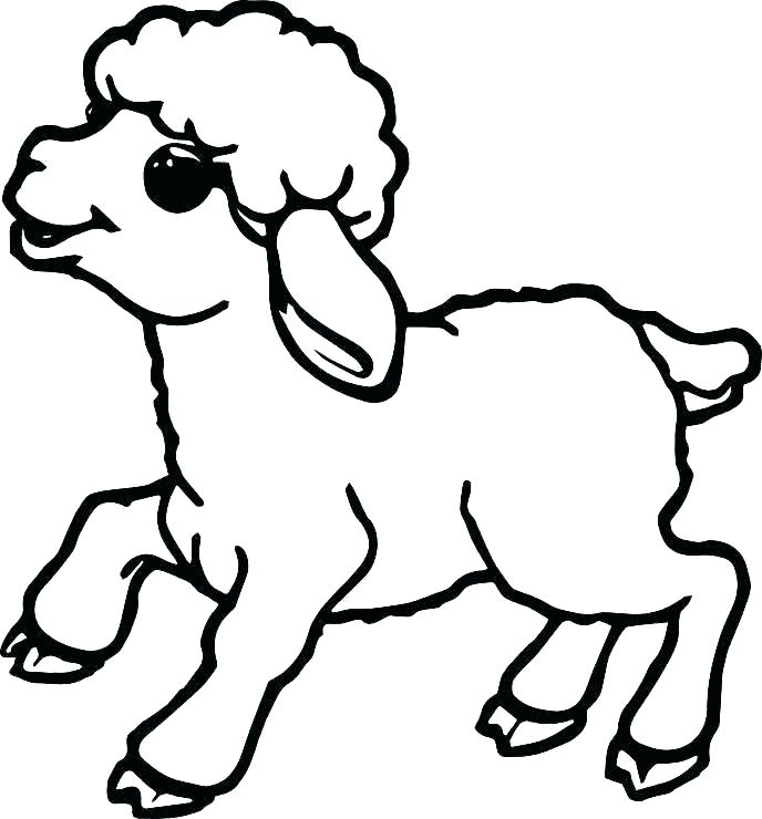 The best free Sheep coloring page images  Download from 559