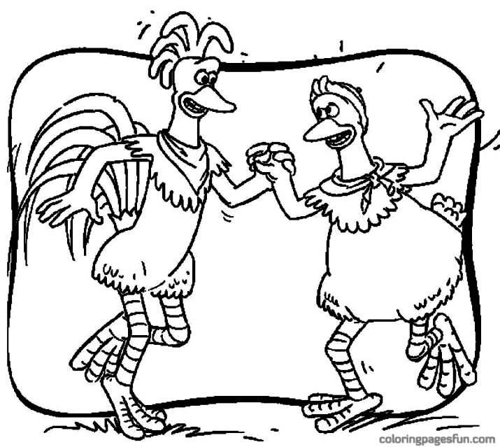 715x639 Chicken Run Coloring Pages Coloring Pages Kids