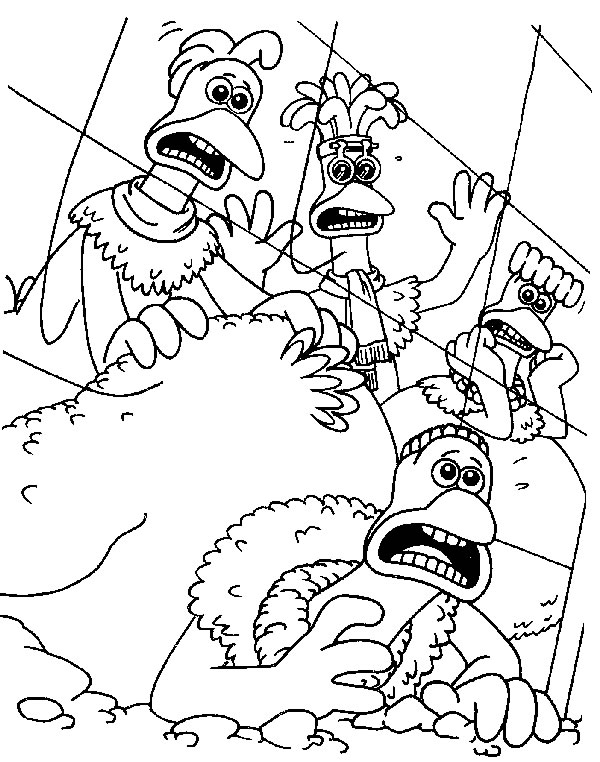 600x762 Kids N Coloring Pages Of Chicken Run