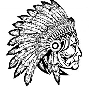 308x308 Appealing Plus Terrific Images Of Chiefs Coloring Pages Free